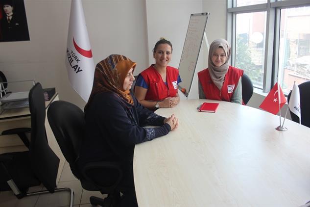 Adrb, Türk Kızılay'ı Mersin Toplum Merkezine Ziyaret Gerçekleştirdi