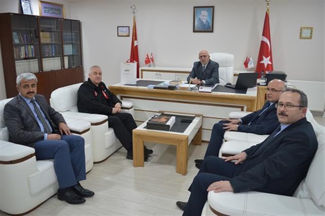 Kocaeli'de Afad Başkan Yardımcısı Palakoğlu, Il Müftülüğüne Ziyarette Bulundu.