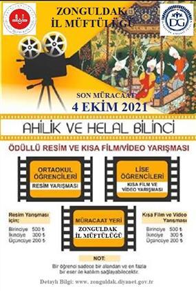 Zonguldak'ta Ahilik Ve Helal Bilinci Konulu Yarışma