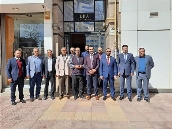 Gaziantep'de Ahmet çelik Hocamıza Veda...
