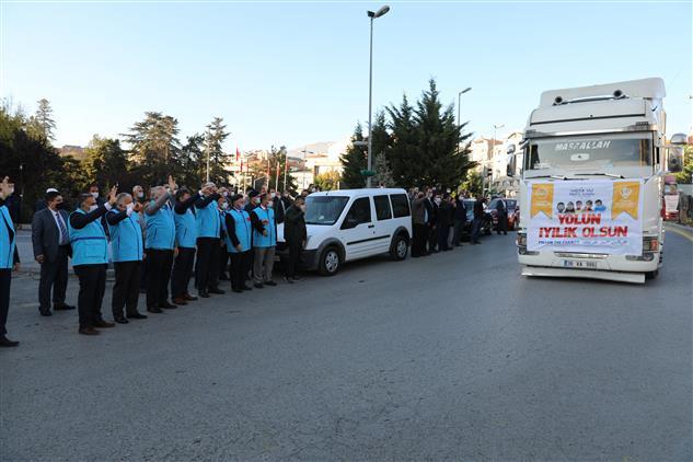 """Kayseri'de Ahiret Mutluluğudur Her Işin Evveli """"azez Ve Idlib'i Unutmadı Develi"""""""