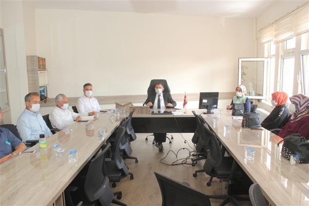 Burdur'da Aile Ve Dini Rehberlik Bürosu Istişare Toplantısı