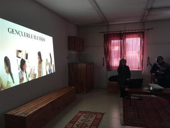 Ardahan'da Aile Ve Dini Rehberlik Bürosu Seminerlerine Devam Ediyor