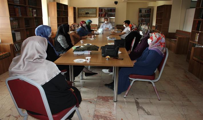 Erzincan'da Aile Ve Dini Rehberlik Bürosu Istişare Toplantısı Yapıldı
