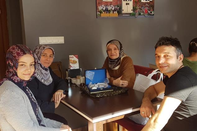Giresun'da Aile Ve Dini Rehberlik Bürosu'ndan Evli çiftlere Ziyaret
