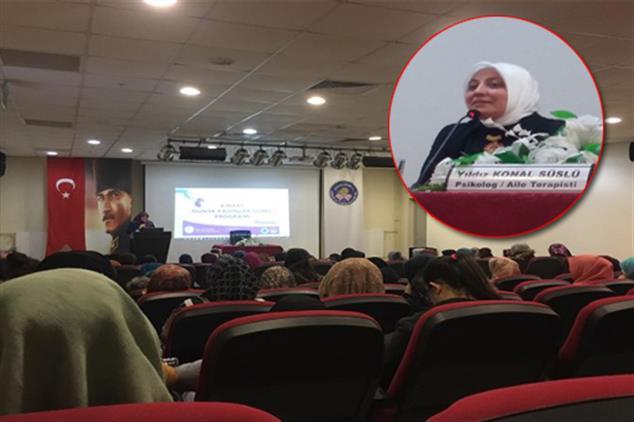 """Rize'de Aile Ve Dini Rehberlik Bürosu'ndan Kyk öğrencilerine özel """"kadınlar Günü Programı"""""""