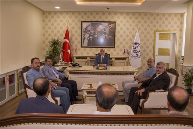 Ak Parti Van Eski Milletvekili Van Il Başkanı Türkmenoğlu'ndan Keskin'e Ziyaret