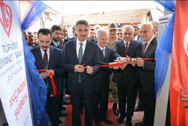 Malatya'da Akçadağ Cennet Bahçesi Kur'an Kursu Açıldı