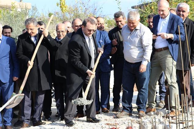 Mersin'de Akdeniz Kürkçü Mahallesi Camiinin Temeli Dualarla Atıldı