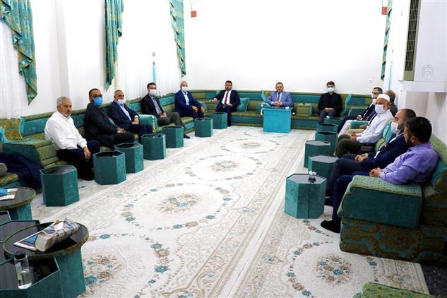 Mersin'de Akdeniz Müftülüğü çalışma Grup Başkanları Ile Istişare Toplantısı Yapıldı