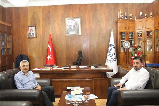 Amasya'da Akif Gülle'den Il Müftümüze Hayırlı Olsun Ziyareti