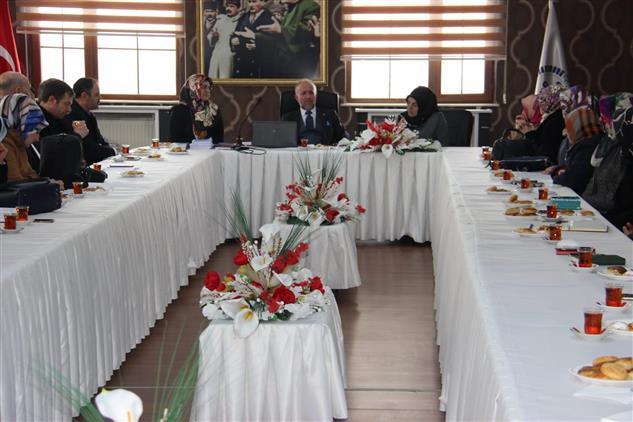 Erzurum'da Aile Ve Dini Rehberlik Büroları Değerlendirme Ve Istişare Toplantısı Yapıldı