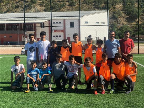 Tokat'da şampiyon Abdülkadir Geylani Camii