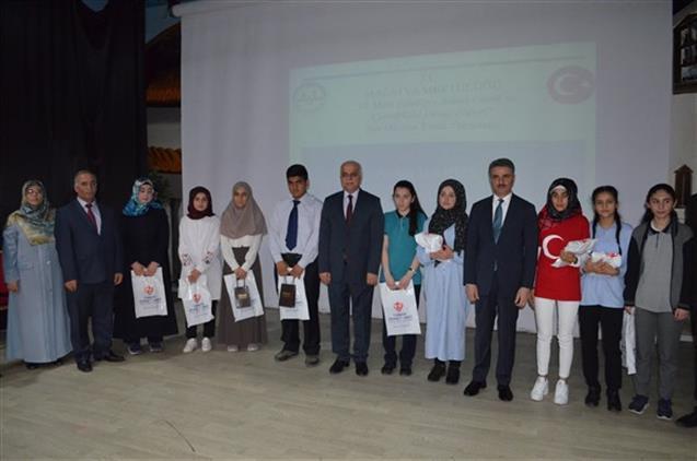 """Malatya'da """"çanakkale şehitlerine"""" şiir Okuma Final Yarışması"""