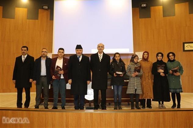 Bingol'de ''çanakkale şehitlerine'' şiirini Ezbere Okuma Yarışması Düzenlendi.