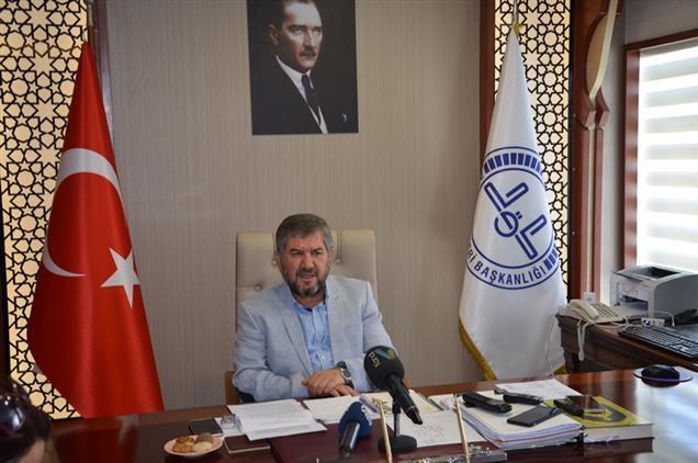 Antalya Il Müftülüğü 2019 Yılı Mevlid-i Nebi Haftası Basın Açıklaması