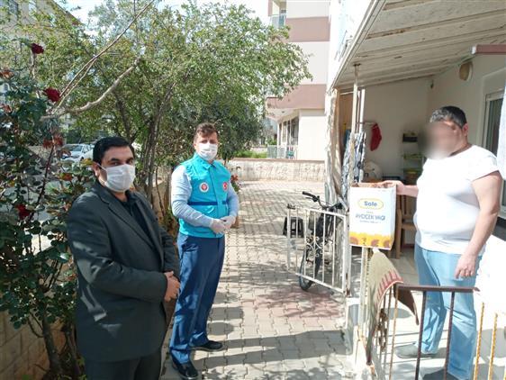Antalya'da Din Görevlilerinin Vatandaşa Hizmeti Hız Kesmeden Devam Ediyor.