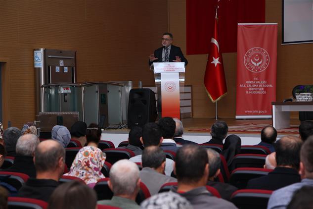 """Bursa'da Asp Il Müdrülüğünde """"dinimizde Engellilerin Yeri"""" Konulu Program Yapıldı"""