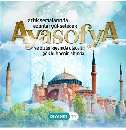 Karaman'da Ayasofya Camii Ibadete Açıldı Ve Diyanet'e Devredildi