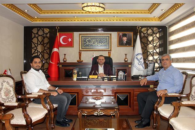 Mersin'de Başhan Tarımsal ürünler Yönetim Kurulu Başkanı Hüsamettin Memiş Il Müftümüzü Ziyaret Etti