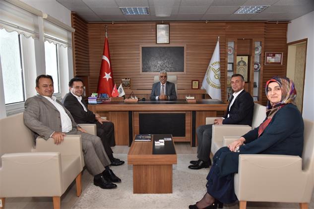 Bilecik'de Başkan şahin'den Bilecik Müftülüğüne Ziyaret