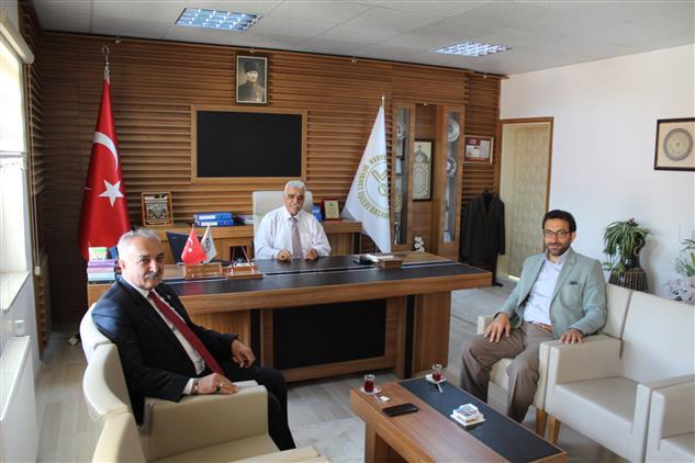 Bilecik'de Başkan Kepez'den Müftü Akkuş'a Iade-i Ziyaret