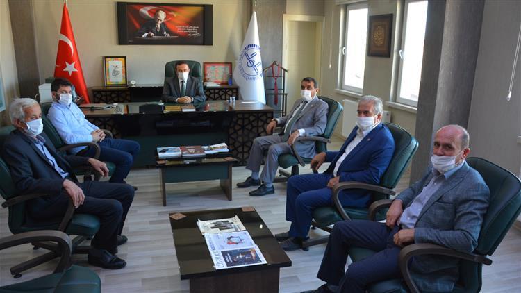 Sinop'ta Başkan Kılıçaslan'dan Il Müftüsü Düzgüney'e Ziyaret