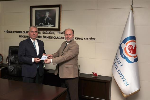 Denizli'de Başkan Zolan'dan Tdv'ye Kurban Bağışı