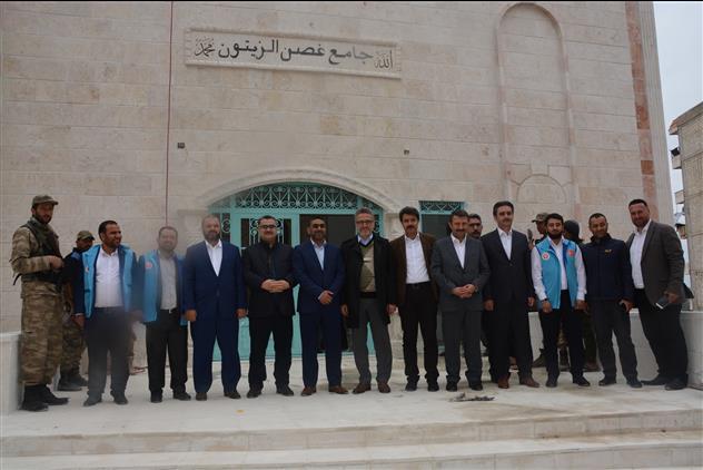 Hatay'da Başkanlık Heyeti Afrin'de