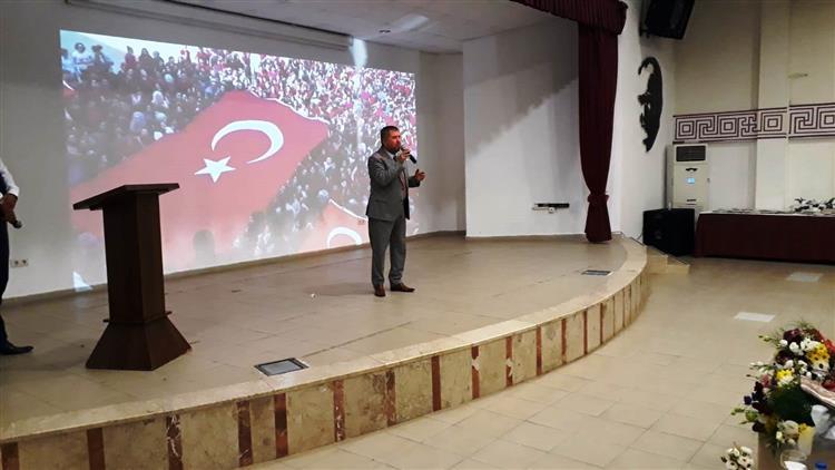 Antalya'da Barış Pınarı Harekatına Selam Ve Dua Programı Düzenlendi