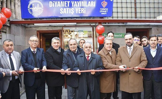 """Bartın'da """"diyanet Yayınları Satış Yeri"""" Açıldı"""
