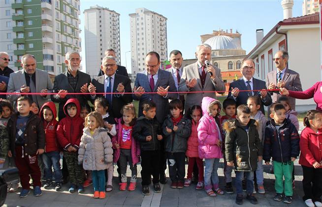 Kayseri'de Bekir - Fazilet Küçükşahin Kur'an Kursu Düzenlenen Törenle Hizmete Açıldı