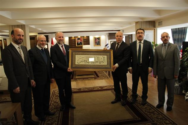Erzurum'da Belediye Başkanlarına Ziyaret