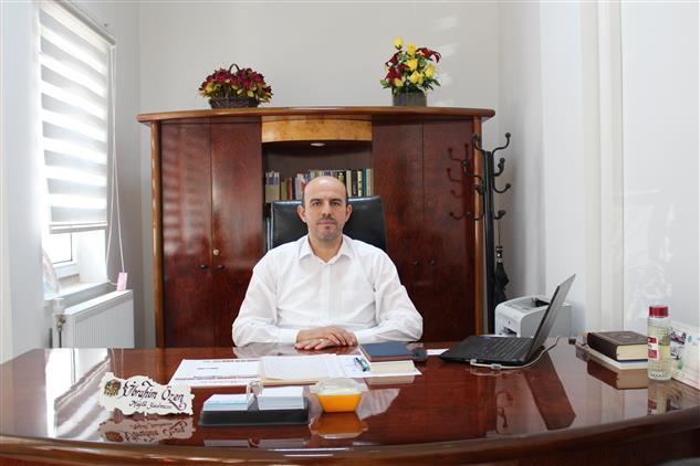 Bilecik'de Bilecik Il Müftü Vekili Ibrahim özen'in Ramazan Bayramı Mesajı