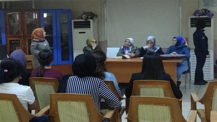 Bingöl M Tipi Kapalı Ve Açık Cezaevinde Bayan Tutuklulara Seminer Verildi