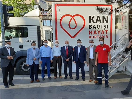 Bingöl Müftülüğünden Kızılay Kan Bağışı Kampanyasına Destek
