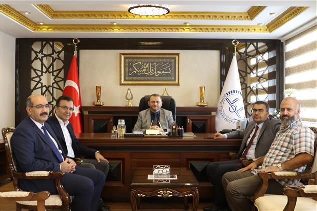Mersin'de Birlik Vakfından Il Müftülüğümüze Ziyaret