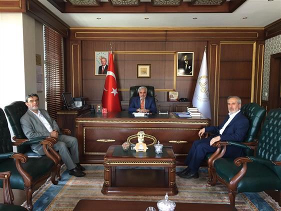 Bingol'de Bitlis Ve Muş Müftülerinden Il Müftümüze Hayırlı Olsun Ziyareti