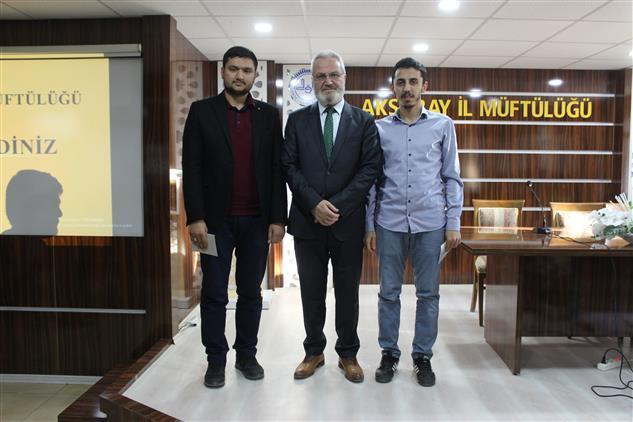 Aksaray'da Bilgi Yarışmasında Dereceye Giren öğrenciler Için ödül Programı Düzenlendi