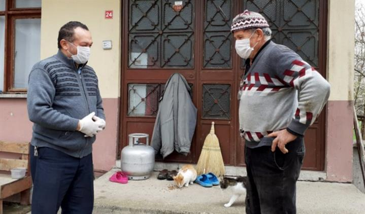 Bolu'da Din Görevlilerimiz Merkez Mahallelerde Ve Köylerde Vatandaşa Hizmete Devam Ediyor.