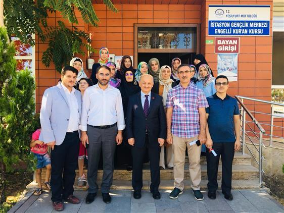 Malatya'da Braille Kur'anı Kerimi öğretme Sertifikası Programı