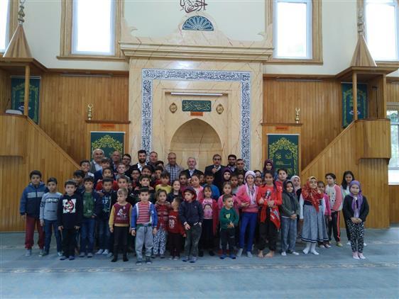 Isparta'da Cami – çocuk Buluşması Gerçekleşti