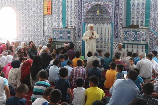 Giresun'da Cami çocuk Ve Aile Buluşması