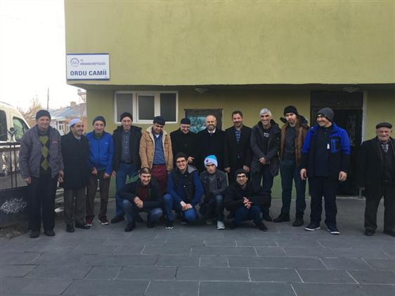 Ardahan'da Camii Engelli Buluşmaları Başladı