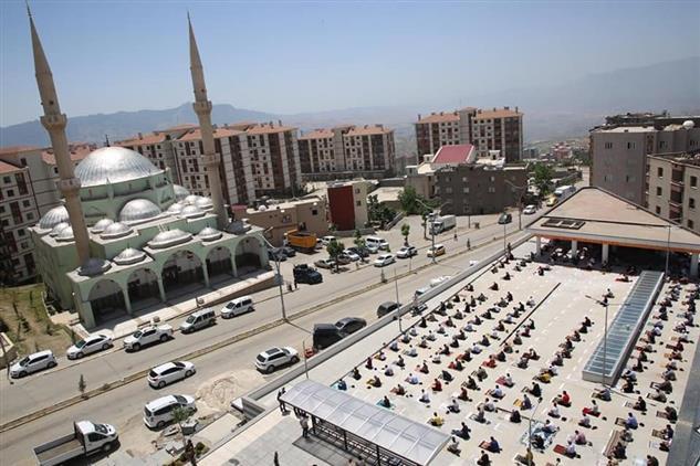 Şırnak'de Camiilerimiz, Cemaat'le Buluştu.