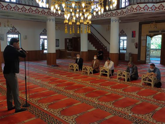 Nevşehir'de Camiler Ve Din Görevlileri Haftası Nedeniyle çeşitli Yarışmalar Düzenlendi