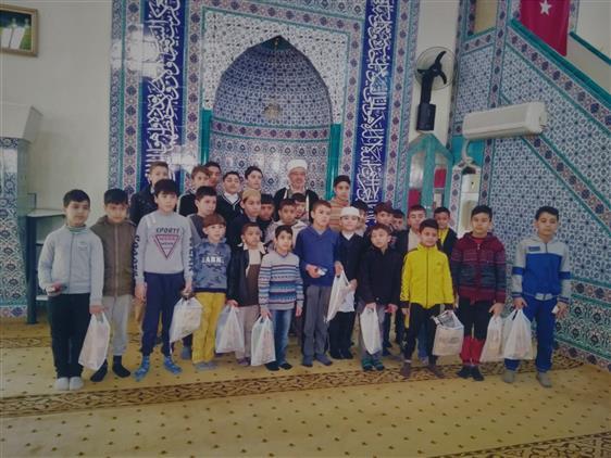 Osmaniye'de Camiyi Seviyoruz Namazda Buluşuyoruz
