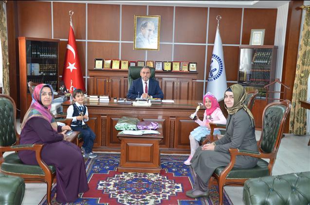 Nevşehir'de Cennet Kuşları, Kur'an-ı Kerim'i Hatmetti