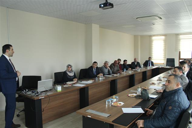 Tekirdağ'da Cezaevlerinde Görevlendirilen Personele Yönelik Eğitim Semineri Yapıldı.