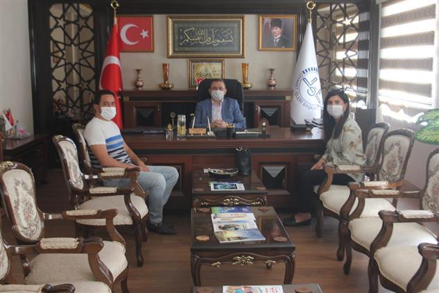 Mersin'de Chp Il Başkan Yardımcıları Turğut Ve özsoy, Il Müftüsü Dr. Kondi'yi Ziyaret Etti